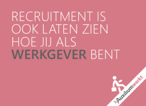 incompany recruitment procesoptimalisatie