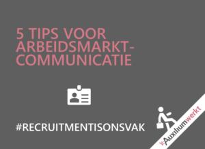 arbeidsmarktcommunicatie